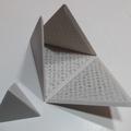 Tétraèdre imprimé